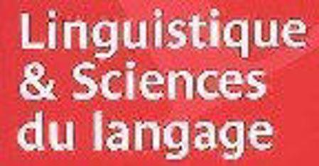 Image de la catégorie Linguistique