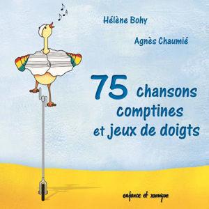 Image de 75 chansons, comptines et jeux de doigts - double CD