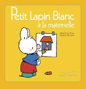 Image de Petit Lapin Blanc à la maternelle