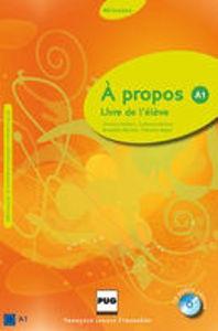 Image de A propos A1 - Livre de l'élève (CD inclus)