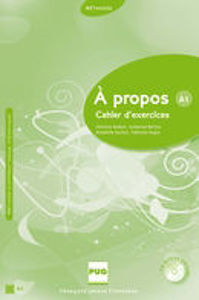 Image de A propos A1 - Cahier d'exercices (CD inclus)