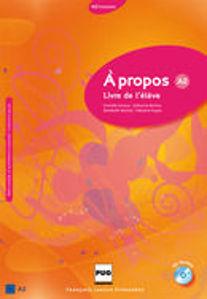 Image de A propos A2 - Livre de l'élève (CD inclus)