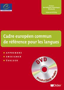 Image de Cadre européen commun de référence pour les langues : apprendre, enseigner, évaluer : apprentissage des langues et citoyenneté européenne