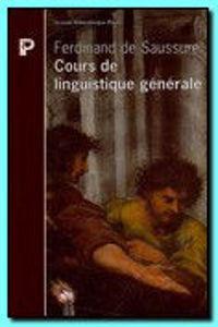 Image de Cours de linguistique générale