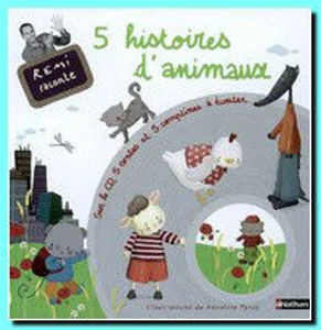 Image de 5 histoires d'animaux avec 1 CD audio