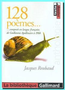 Image de 128 Poèmes.... composés en langue française de Guillaume Apollinaire à 1968