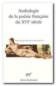 Image de Anthologie de la poésie française du XVIe siècle