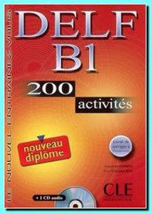 Image de Delf B1 - 200 activités avec CD
