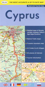 Image de Road & Tourist Map of Cyprus
