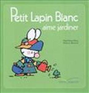 Image de Petit Lapin Blanc aime jardiner