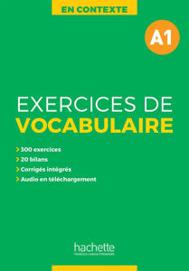 Image de Exercices de vocabulaire A1 + audio MP3 + corrigés - En Contexte