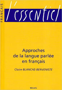 Image de Approches de la langue parlée en français
