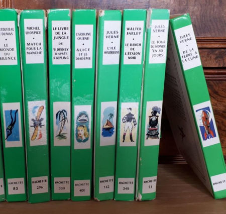 Image de la catégorie Bibliothèque Verte