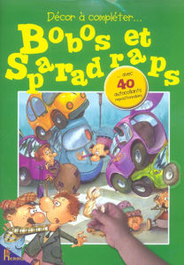 Image de Bobos et Sparadraps avec 40 autocollants repositionnables