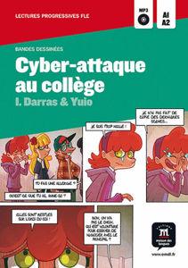 Image de Cyber-attaque au collège (BD-DELF A1)