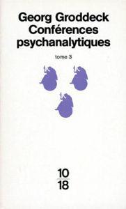 Image de Conférences psychanalytiques . Tome 3