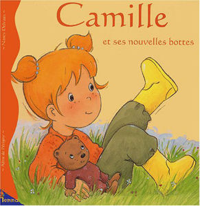 Image de Camille et ses nouvelles bottes