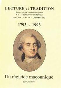 Image de Un régicide maçonnique (1ère partie) 1793-1993