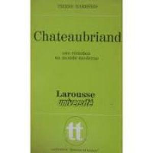 Image de Chateaubriand. une réaction au monde moderne.
