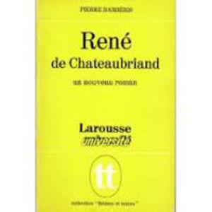 Image de René de Chateaubriand, un nouveau roman