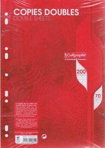 Image de Copies doubles A4 Séyès 200 pages perforées