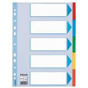 Image de Intercalaires (5) carton