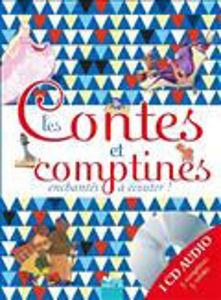 Image de Les contes et comptines enchantés à écouter (1 CD audio inclus)