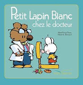 Image de Petit Lapin Blanc chez le docteur