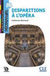 Image de Disparitions à l'Opéra - Découverte niveau A2.2
