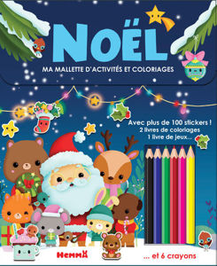 Image de Ma mallette d'activités et coloriages : Noël
