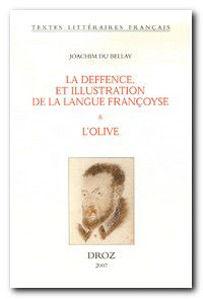 Image de La deffence et illustration de la langue françoyse - Et L'olive
