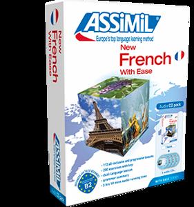 Image de New french with ease - coffret 1 livre et 4 cd audio)