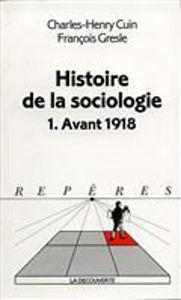Image de Histoire de la Sociologie.1. Avant 1918.