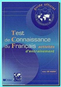 Image de Test de Connaissance du Français, activités d'entraînement +CD Audio
