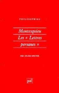 """Image de Montesquieu. Les"""" Lettres Persanes""""."""