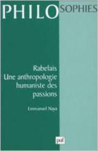 Image de Rabelais. Une anthropologie humaniste des passions