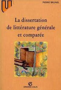Image de La dissertation de littérature générale et comparée