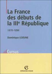 Image de La France des débuts de la IIIe République