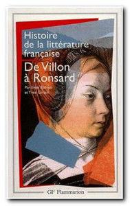 Image de De Villon à Ronsard - Histoire de la littérature française t.2