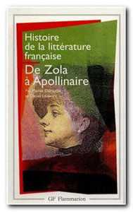 Image de De Zola à Apollinaire - Histoire de la littérature française t.8