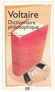 Image de Dictionnaire philosophique