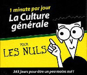Image de La culture générale pour les nuls - 1 minute par jour