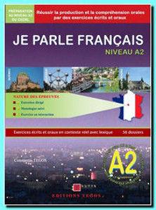 Image de Je parle français niveau A2 - exercices en contexte réel avec lexique