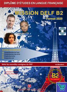 Image de Mission DELF - Niveau B2 - Pack prof (livre élève + corrigés + CD audio)