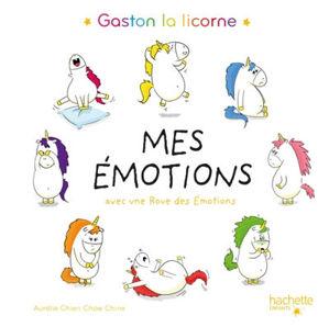 Image de Mes émotions : Gaston la licorne : avec une roue des émotions