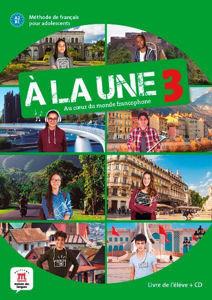 Image de A la une 3 - livre élève + CD - A2 / B1