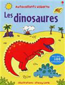 Image de Les dinosaures avec plus de 100 autocollants