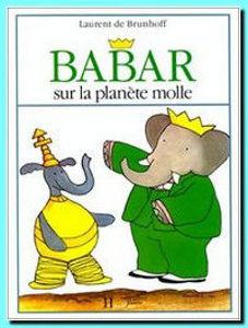 Image de Babar sur la planète molle