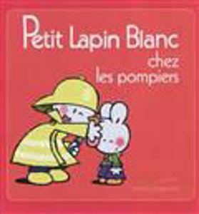 Image de Petit Lapin Blanc chez les pompiers
