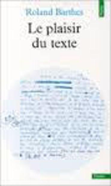 Image de Le Plaisir du texte